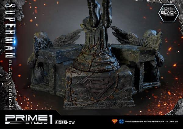 Black Suit Superman Statue from Prime 1 Studio