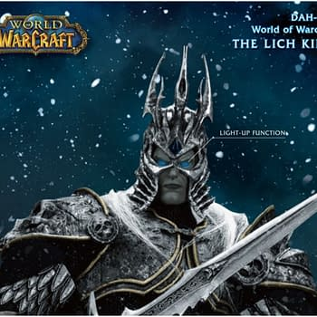 World of Warcraft Lich King Arrives at Beast Kingdom