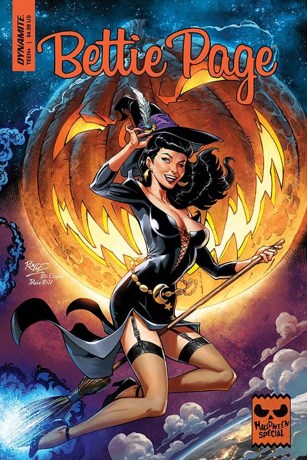 David Avallone's Writer's Commentary on Bettie Page Hallowe'en Special 2019