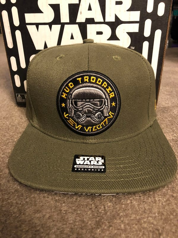 Funko Smugglers Bounty Star Wars Solo box Mudtrooper Hat
