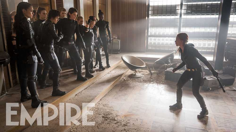 """Black Widow"": Natasha Faces Down the Red Room in 2 New Images"