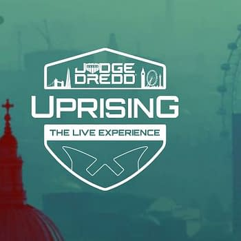 Coming in 2021 Judge Dredd Live in London's Piccadilly Circus