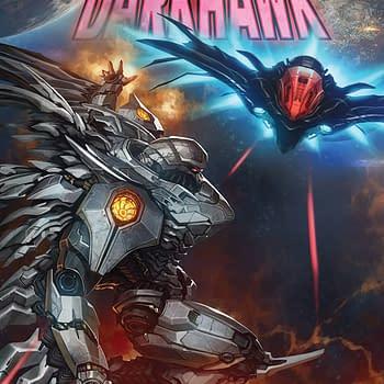 Infinity Countdown: Darkhawk #4 cover by Skan