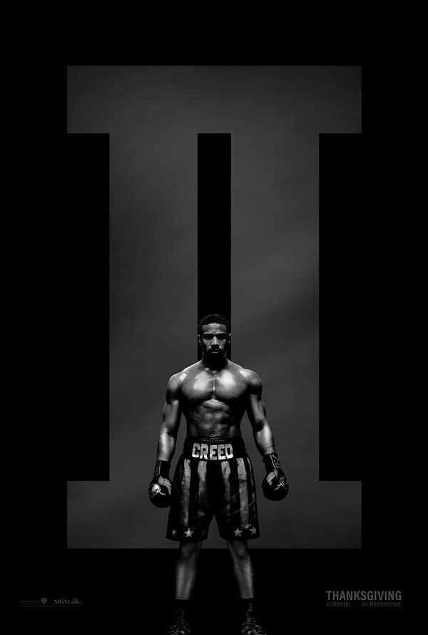 Official Poster for Creed II Hits, Confirms Thanksgiving Release