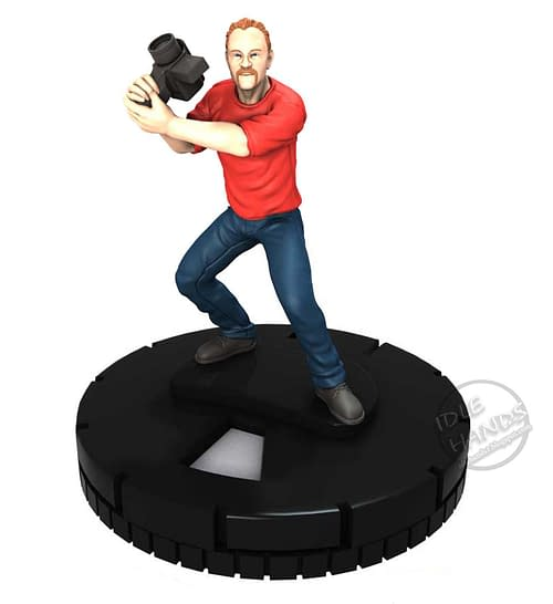 Joss Whedon, Stan Lee, Harry Knowles And Morgan Spurlock HeroClix Figures For San Diego Comic Con