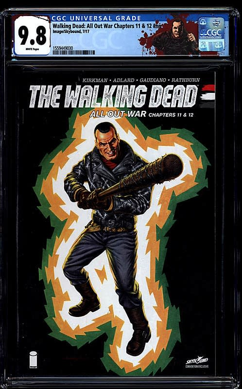 Comic Connect Walking Dead GI Joe Cover Exclusive 2