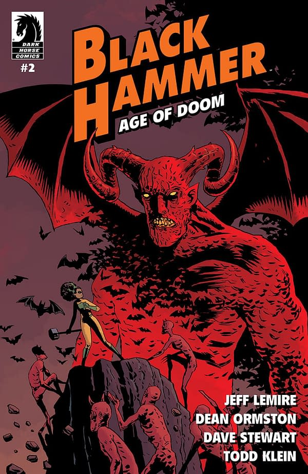 Black Hammer: Age of Doom #2 cover by Dean Ormston