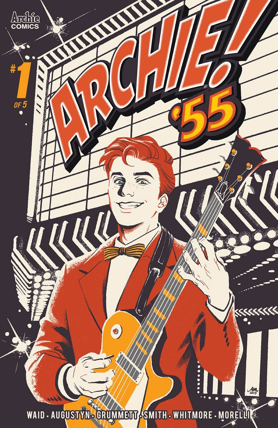 Waid, Augustyn, and Grummett Launch Archie 1955 in September