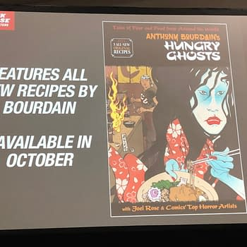 New Recipes in Anthony Bourdains Hungry Ghosts Collection from Dark Horse/Berger Books