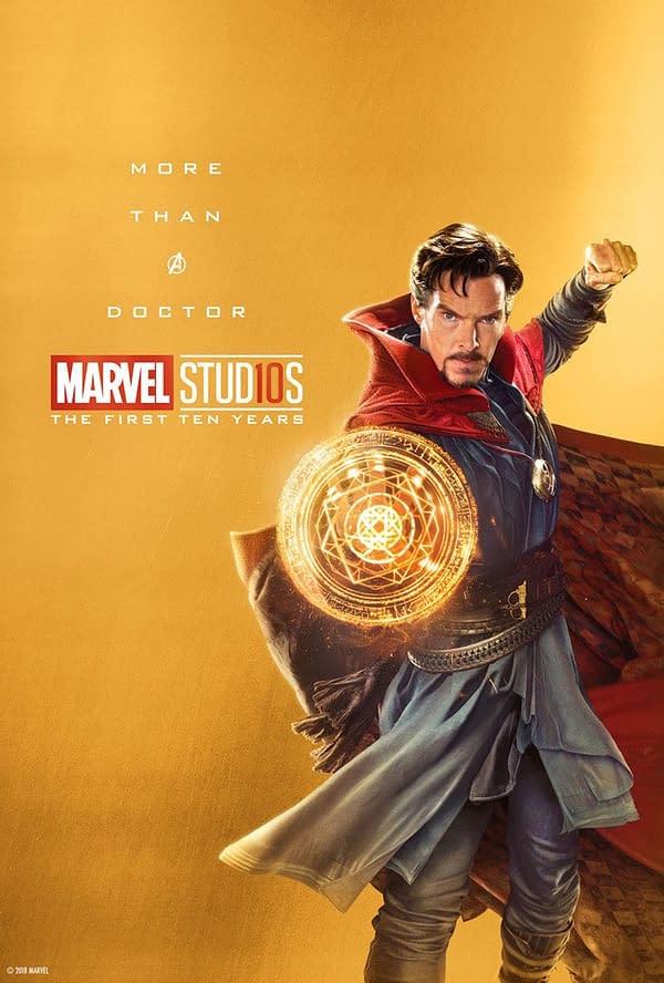 Marvel Studios More Than A Hero Poster Series Doctor Strange