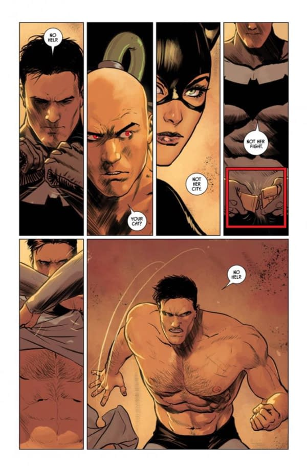 Topless Batman #82 Preview, Now With Words