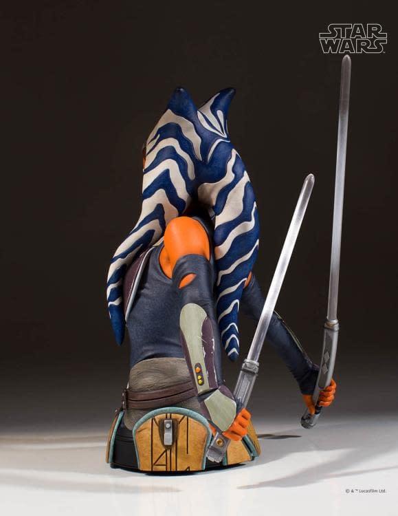 Star Wars Ahsoka Tano Bust 3