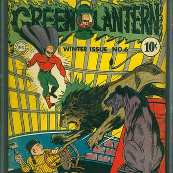 Green Lantern 6, Winter 1943, DC Comics.