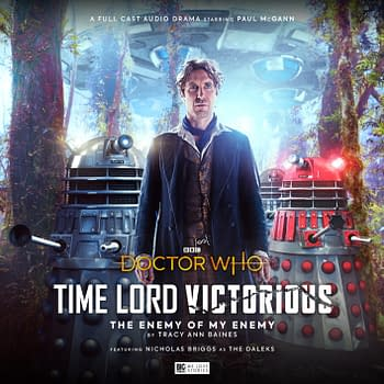 "A look at Big Finish's audio dramas for Doctor Who event ""Time Lord Victorious"", courtesy Big Finish."