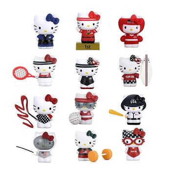 Sanrio Hello Kitty x Team USA figures from Kidro