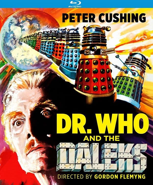 Dr. Who and the Daleks Blu Ray