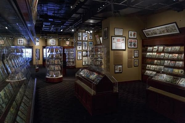 Steve Geppi's Entertainment Museum Closes This Weekend, Donates Collection to the Library of Congress