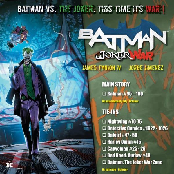 James Tynion IV Talks up Batman to Comic Store Retailers for FOC.