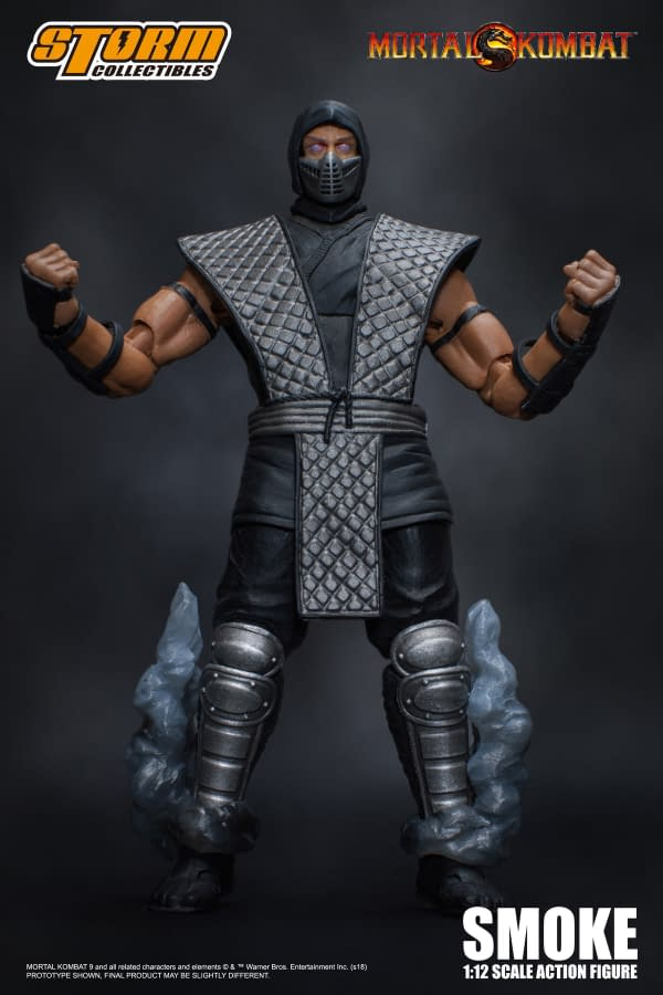 NYCC Storm Collectibles Mortal Kombat Smoke Exclusive 3