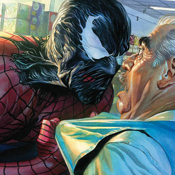 Amazing Spider-Man #793 cover by Alex Ross