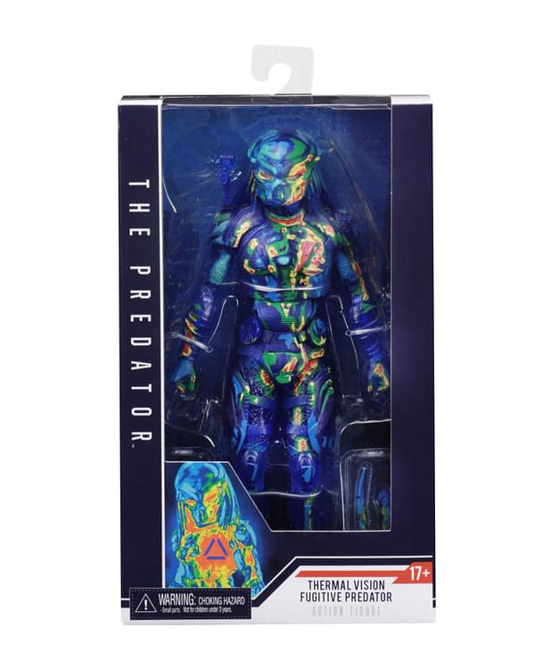NECA Thermal Predator Figure Target Exclusive 2