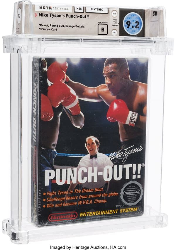 Would You Like To Own A Sealed Copy Of Mike Tyson's Punch Out?