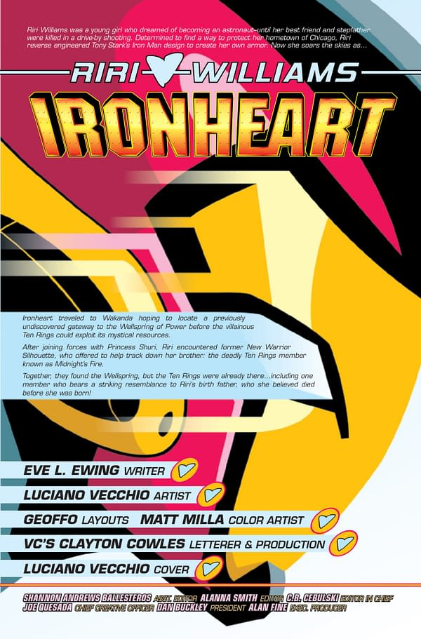 Ironheart #11 [Preview]