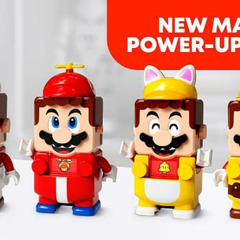 Super Mario Powers Up with New LEGO Packs Coming in August