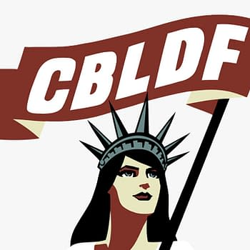 Official Logo of the CBLDF.