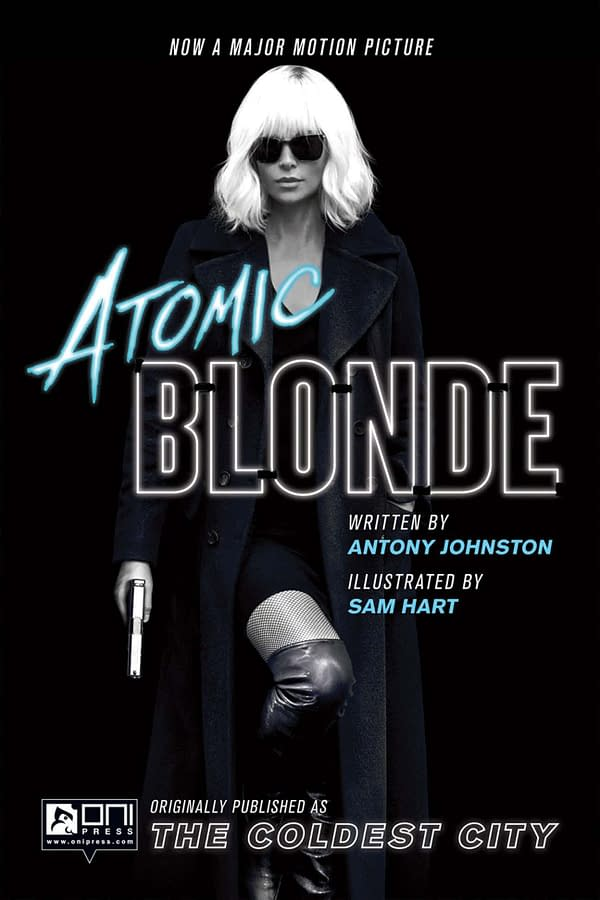 Atomic Blonde official poster. Credit: Focus Pictures