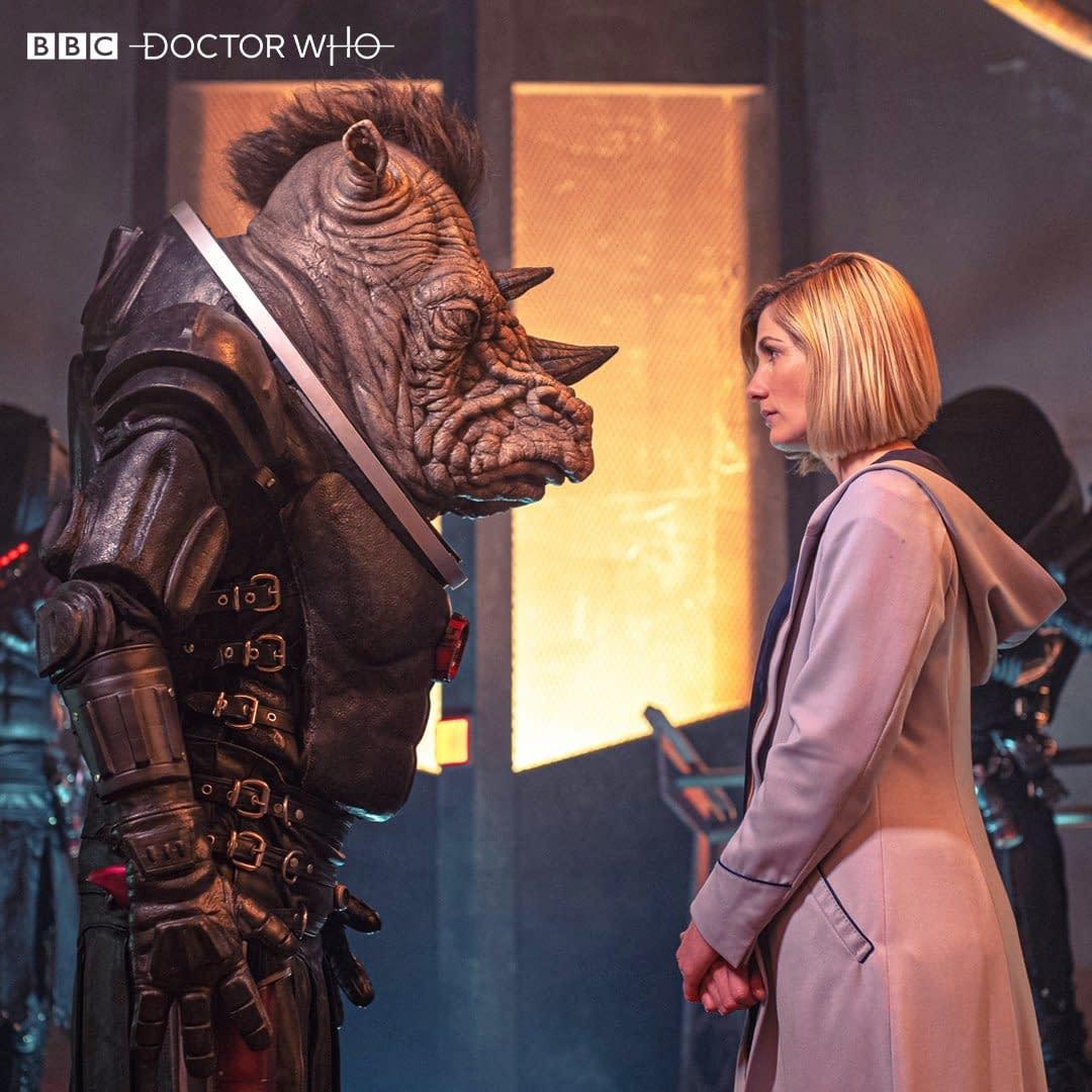 Doctor Who Season 12 Photo - How Judoon?