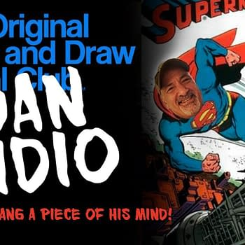Drink and Draw with Dan DiDio