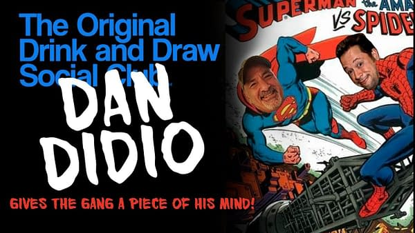 Drink and Draw with Dan DiDio.