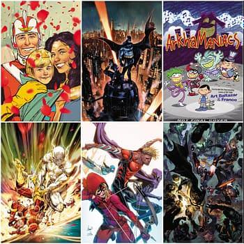 DC Comics March 2020 Solicitations, Arkhamaniacs, Batman, Wonder Woman, Flash,Young Justice, Strange Adventures - Frankensteined
