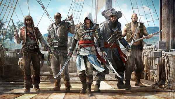 You Can Pick up Assassin's Creed IV: Black Flag for Free Next Week