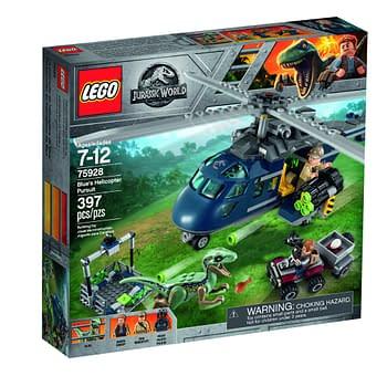 LEGO Jurassic World Fallen Kingdom Blues Escape 1