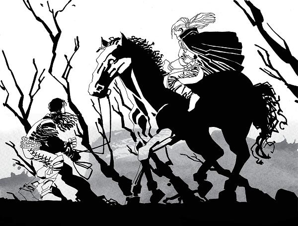 "Frank Miller Calls ""Cursed"" His Feminist Retelling of King Arthur Myth"