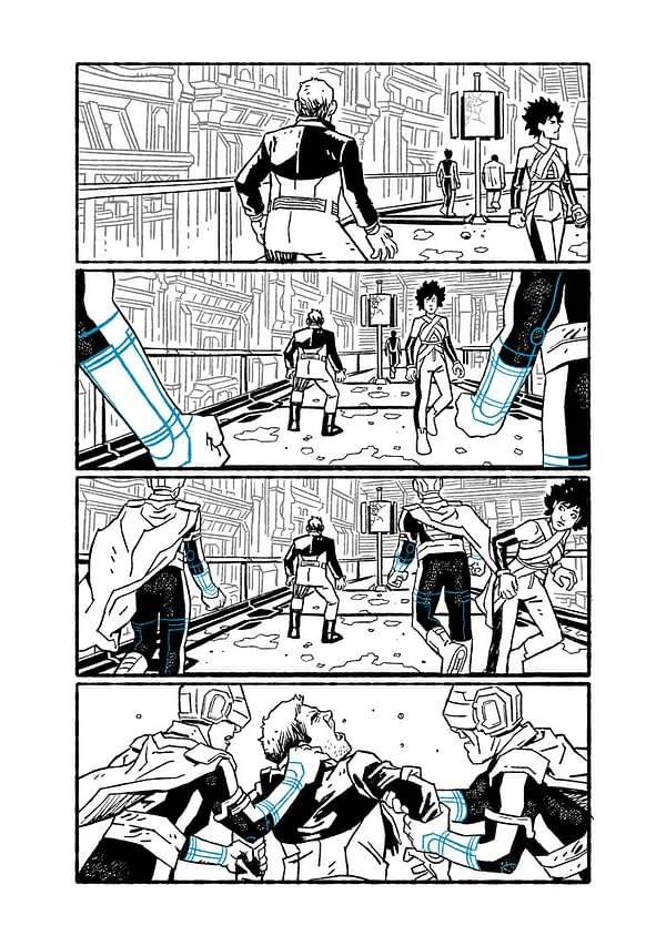 Preview page from House of El Book One: The Shadow Threat from DC Comics.