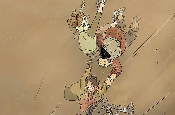 Lumberjanes #47 cover by Kat Leyh