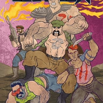 G I Joe Brings In First Queer Artist For Homoerotic New Variant Cover