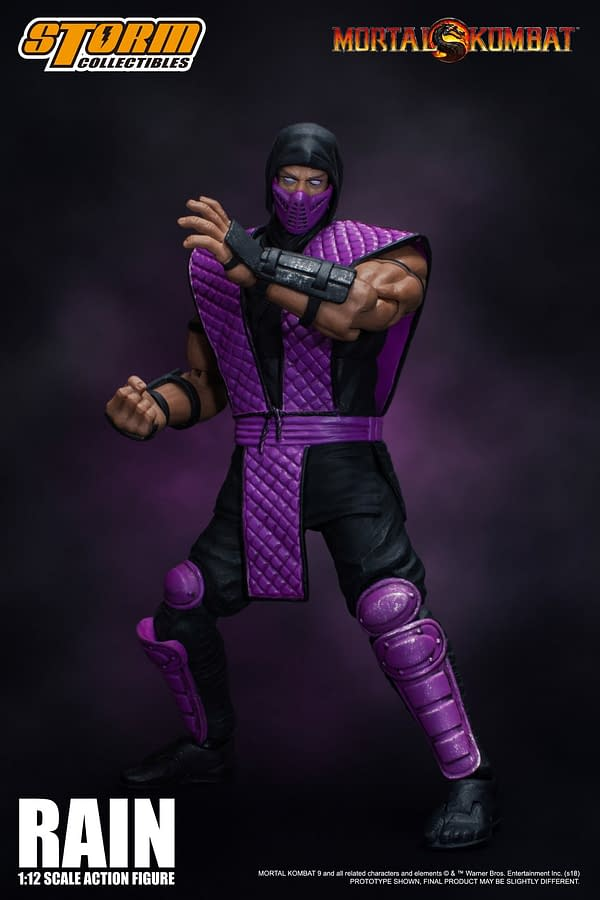 NYCC Storm Collectibles Mortal Kombat Rain Exclusive 4
