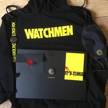 Getting a Big Box of HBO Watchmen Stuff