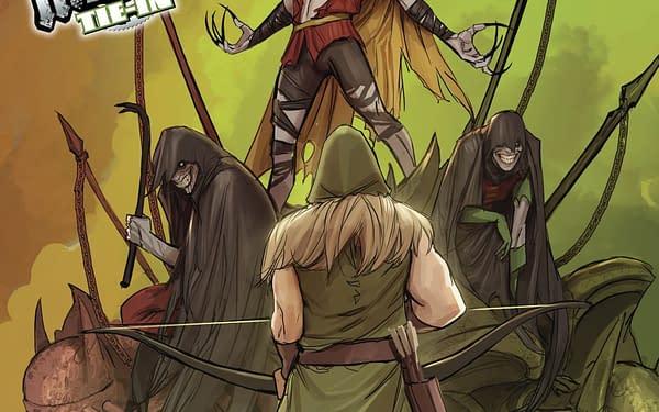 Green Arrow #32 cover by Stepjan Sejic