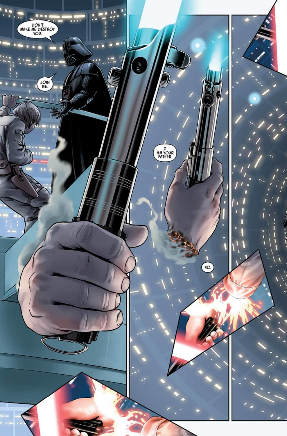 First Look at Marvel's New Star Wars #1 Shows Immediate Aftermath of Empire Strikes Back
