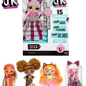 LOL Surprise Launch New Series J.K. Mini Fashion Dolls