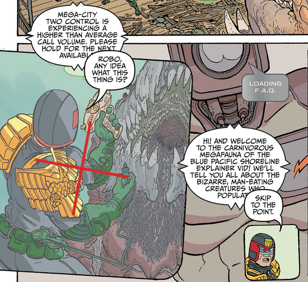 Judge Dredd Mega-City Two #3