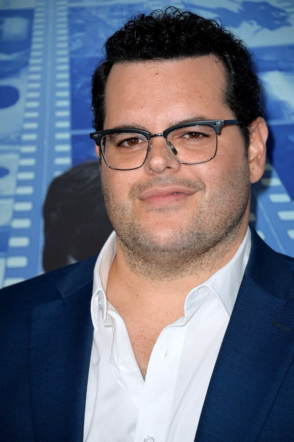 "LOS ANGELES, CA - September 26, 2017: Josh Gad at the premiere for the HBO documentary ""Spielberg"" at Paramount Studios, Hollywood"
