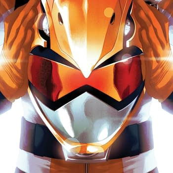 BOOM! Creates New Orange Power Ranger for Make-a-Wish SDCC Variant