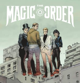 Mark Millar Netflix Comics magic order