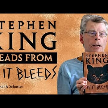 Stephen King reads from the next Holly Gibney story in If It Bleeds, courtesy of Simon & Schuster, Inc.